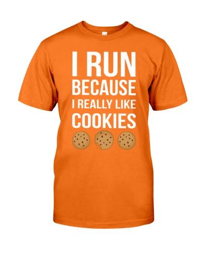 I run because I really love cookies