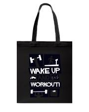 wake up Tote Bag thumbnail