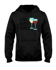 I Go Both Ways Wine  Hooded Sweatshirt thumbnail