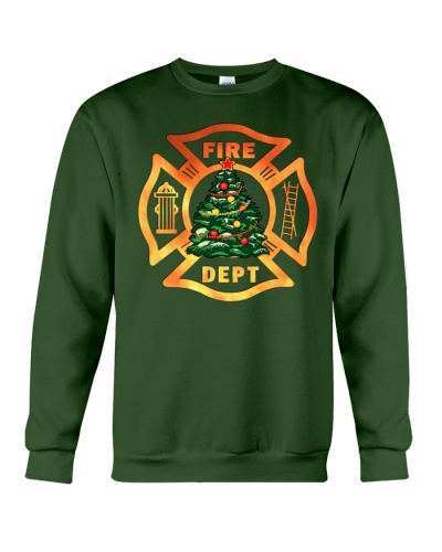 fire christmas tree