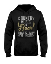 country music and beer that's why i'm here Hooded Sweatshirt thumbnail