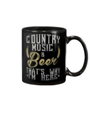 country music and beer that's why i'm here Mug thumbnail