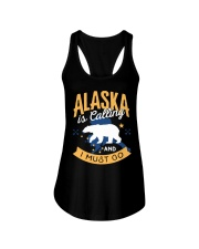 Alaska is Calling And I Must Go Ladies Flowy Tank thumbnail