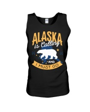 Alaska is Calling And I Must Go Unisex Tank thumbnail