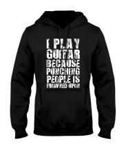 Guitar Play because Hooded Sweatshirt thumbnail