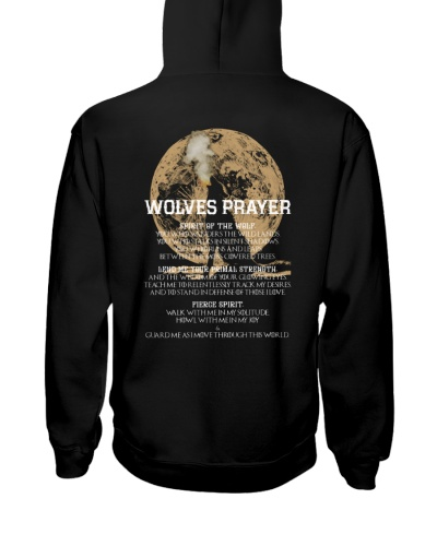 Wolves prayer - wolves lovers