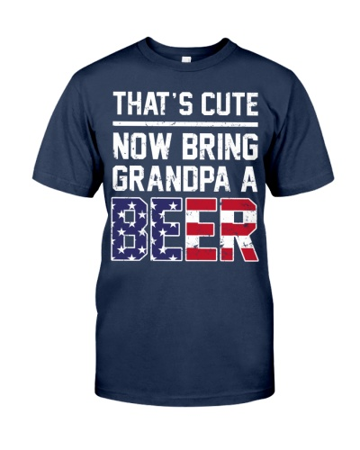 That cute now bring grand a beer