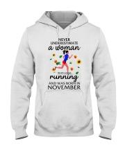 running eng  wom nev3 11 Hooded Sweatshirt thumbnail