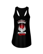 Guitar It's my blood Ladies Flowy Tank thumbnail