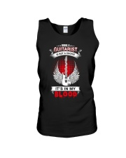 Guitar It's my blood Unisex Tank thumbnail