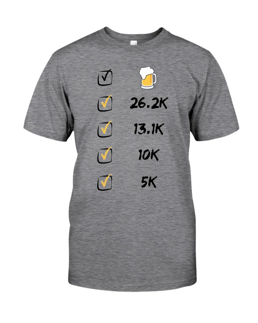 Run like beer Classic T-Shirt