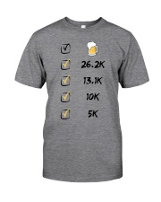 Run like beer Classic T-Shirt front
