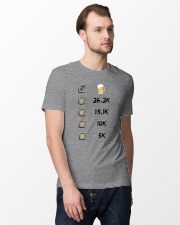 Run like beer Classic T-Shirt lifestyle-mens-crewneck-front-12