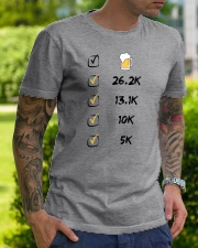 Run like beer Classic T-Shirt lifestyle-mens-crewneck-front-7