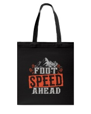 Hiking Mountain Foot Speed Tote Bag thumbnail