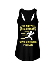 Beer Drinker Running Problem Ladies Flowy Tank thumbnail