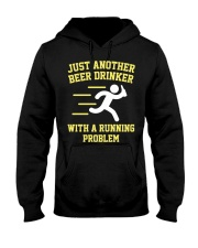 Beer Drinker Running Problem Hooded Sweatshirt thumbnail