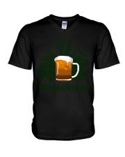 Hopsologist  V-Neck T-Shirt thumbnail