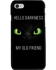 hello darkness dragon Phone Case tile