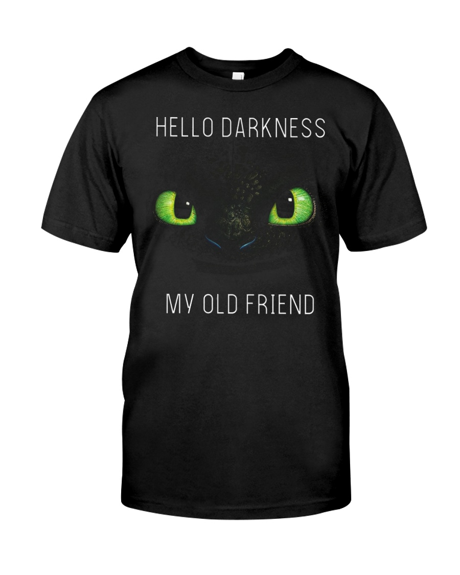 hello darkness dragon Classic T-Shirt