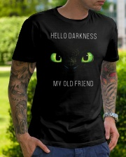 hello darkness dragon Classic T-Shirt lifestyle-mens-crewneck-front-7