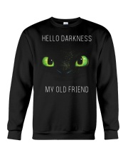 hello darkness dragon Crewneck Sweatshirt tile