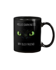 hello darkness dragon Mug tile