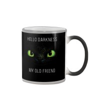 hello darkness dragon Color Changing Mug tile