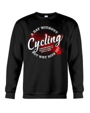 a day withou cycling 2539152 Crewneck Sweatshirt thumbnail