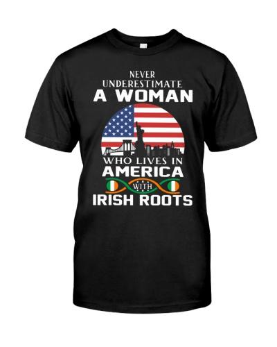 irish roots woman