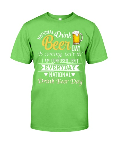 National drink beer day