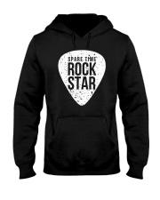 Guitar Spare time rock star Hooded Sweatshirt thumbnail