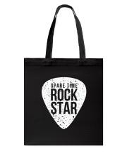 Guitar Spare time rock star Tote Bag thumbnail