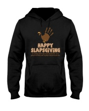 Happy Slapsgiving Dark TShirt Hooded Sweatshirt thumbnail