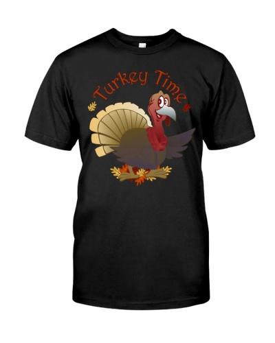 Turkey Time Light TShirt