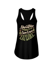 Hiking Camping Adventure Ladies Flowy Tank thumbnail