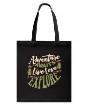 Hiking Camping Adventure Tote Bag thumbnail