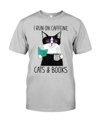 cat runon caffeine cats and books