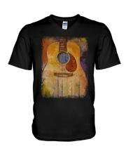 guitar classic V-Neck T-Shirt thumbnail