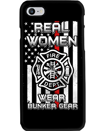 Real women wear bunker gear