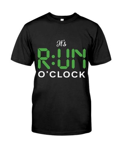 It's Run O'clock