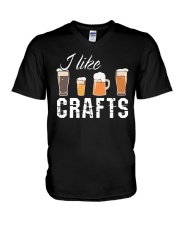 I like crafts V-Neck T-Shirt thumbnail