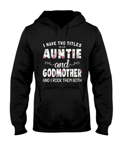I HAVE TWO TITLES AUNTIE AND GODMOTHER