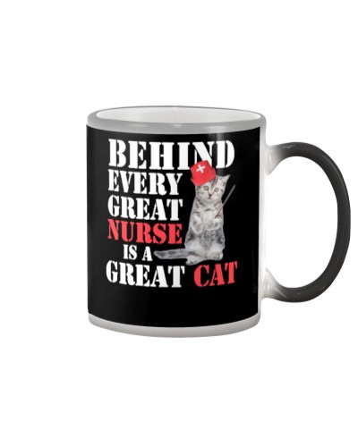 behind every great nurse is a great cat 158342