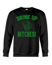 Drink Up Bitches Women's Dark  Crewneck Sweatshirt thumbnail
