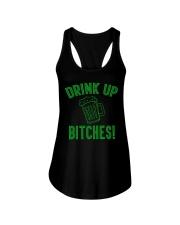 Drink Up Bitches Women's Dark  Ladies Flowy Tank thumbnail