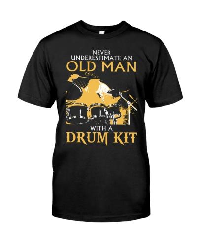 old man drum
