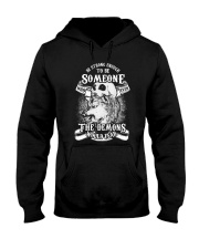 Be strong enough to be someone Hooded Sweatshirt thumbnail