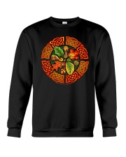 Celtic Autumn Leaves Long Sleeve Dark TShirt Crewneck Sweatshirt thumbnail