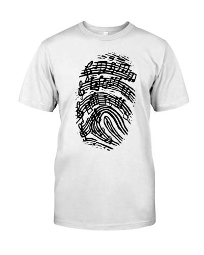 Guitar finger print